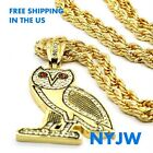OVOXO OWN DRAKE TAKE CARE OVO OWL LIL WAYNE PENDANT W 36