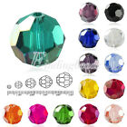72pcs 10mm Flat Round Faceted Rondelle DIY Crystal Beads For Swarovski Jewelry