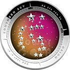 ORION CONSTELLATION Southern Sky Curved Dome Silver Proof Coin 5$ Australia 2014
