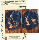 BUNNIES & CARROTS #103 Painting Pattern EASTER by MS Designs 2 Photos Included