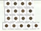 Dealer Lot - Great Britain Farthings - Various Dates - As Shown - 17 Coins