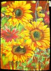 Large Sunflowers Autumn Fall 125 x 18 garden decorative flag