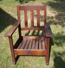 STICKLEY BROTHERS CO ROCKING CHAIR ROCKER QUAINT FURNITURE GRAND RAPIDS MICHIGAN