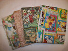 AN EASTER HOLIDAY BUNNIES AND EGGS COTTON FAT QUARTERS FABRIC LOT OF 4