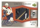 Olli Jokinen 2005-06 Upper Deck The Cup Limited Logos 3-color Patch Auto 45 50