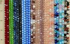 100 Preciosa Czech Glass Fire Polished 6mm Faceted Round Beads You Pick Color