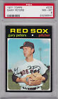 1971 Topps #225 GARY PETERS PSA 8 NM MT Boston RED SOX