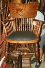 Quartersawn Oak Carved Rocking Chair / Rocker  (R149)