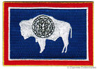 WYOMING STATE FLAG embroidered iron on PATCH EMBLEM WY