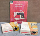 SINGER 625 ZIG-ZAG, FASHION DISCS AND INSTRUCTION MANUAL-FOR PARTS OR REPAIR