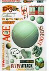 FC Scrappin Sports  More Volleyball Scrapbooking Rub Ons Large Sheet 634