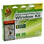 Duck Brand 281065 Indoor Extra Large Window/Patio Door Shrink Film Kit, New