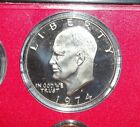 1974 S Proof Eisenhower Dollar $1