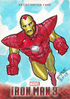 2013 Upper Deck Iron Man 3 Trading Cards 11