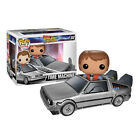 FUNKO POP RIDES BACK TO THE FUTURE TIME MACHINE w MARTY FIGURE 3.75