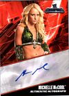 WWE Michelle McCool 2011 Topps Champions Authentic Autograph Card CASE HIT