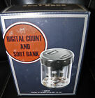Digital Count and Sort Bank for Coins