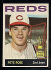 1964 TOPPS # 125 PETE ROSE ALL STAR ROOKIE NICE CARD