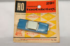 Tootsietoy Pocket Series, HO Scale, 1960 Cadillac Sedan, Blue, New on Card