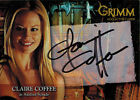 Grimm 2013 Autograph Card CCAC-2 Claire Coffee as Adalind Schade