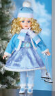 Collections Etc Ice Skating Emily Collectible Winter Holiday Doll