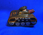 Vintage Japanese Wind Up Tin Toy Tank Mechanical M.TANK #AP