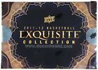 2011 12 UPPER DECK EXQUISITE BASKETBALL HOBBY BOX LOOK FOR JORDAN LEBRON AUTOS!