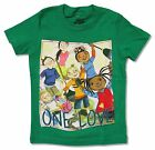 ONE LOVE KIDS GREEN YOUTH TODDLER T SHIRT NEW OFFICIAL BOB MARLEY CATCH A FIRE
