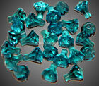 Lego Transparent Blue Crystal Jewel Diamond Gem Pirate Treasure NEW Lot of 25