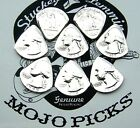 1958 Genuine MOJO Guitar Pick Silver USA Coin Fender Strat Chevy Cadillac Fan