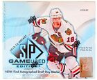 2012 13 Upper Deck SP Game Used Hockey Hobby Box
