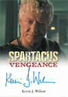 Spartacus Vengeance 2013 Autograph Card Signed by Kevin J. Wilson as Albinius V1