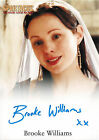 Spartacus Vengeance 2013 Autograph Card Signed by Brooke Williams as Aurelia V2