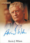 Spartacus Vengeance 2013 Autograph Card Signed by Kevin J. Wilson as Albinius V2