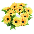New Artificial Sunflower Garland Flower Vine for Home DIY Wedding Floral Decor