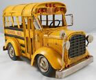 Vintage Looking Yellow School Bus Vehicle Truck Model Buses Bus Drivers Gifts