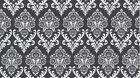 Dear Stella Ashe S24 Charcoal Damask  Bty Cotton Fabric FREE US SHIPPING