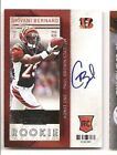 Giovani Bernard 2013 Panini Contenders Rookie Ticket Auto RC Autograph