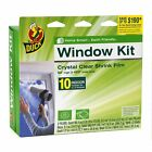 62 x 420-Inch Duck Brand 281506 Indoor 10-Window Shrink Film Insulator Kit, 62-