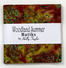 CHARM PACK~WOODLAND SUMMER BATIKS~MODA FABRIC~40-5