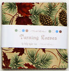 CHARM PACK~TURNING LEAVES~MODA FABRIC~42-5