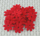 50pcs Padded Felt Spring Flower craft Appliques  H137 3