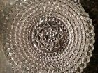 Gorgeous Sparkling PRESSED GLASS Antique Bowl - Medium Size, Early 1900s