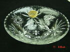 Vintage Anchor Hocking Bowl Round Unused With Tag Star of David Pattern