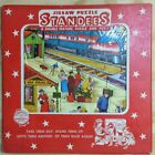 STANDEE JIGSAW PUZZLE 1950 CAPITOL STANDEES RAILROAD STATION VINTAGE S 203 TRAIN