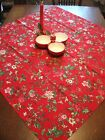 3711769657594040 1 Vintage Christmas Tablecloth