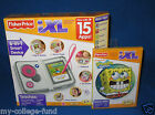 FISHER PRICE IXL LEARNING SYSTEM W/ 15 APPS PINK + SPONGEBOB SOFTWARE NEW