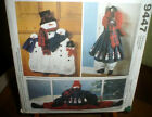 McCalls 9447 Snowman Door Drafter Wall Hangings Pattern UC OOP