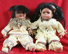 PAIR Duck House Heirloom & Cathay Native American Indian Limited Edition Dolls