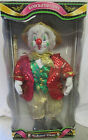 NIP Collectible Handcrafted Porcelain Clown Doll by Collector's Choice